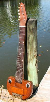 1936 Oahu Custom Shop Lap Steel Guitar | eBay