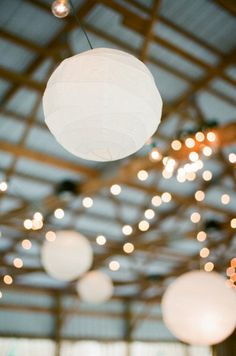 Style Me Pretty | Lanterns and lights
