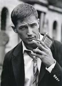 Tom Hardy... this guy is the marine in the movie Warrior.  Myyymyyyy!