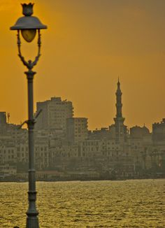 Alexandria, Egypt at dusk ~ they didnt have tequilla last I was there