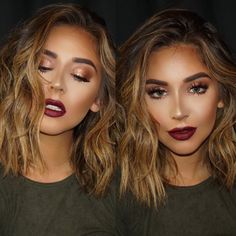 Fall Makeup Inspired look Modeled by @nadia_mejia & Who Glammed her Up?@brittanybearmakeup