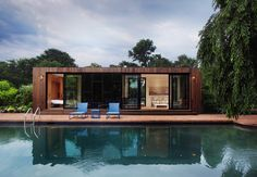 Cocoon9 / All-in-One Addition That Comes Prefabricated makes the most of its petite imprint.