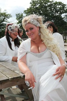 and George, both English Romany Gypsies are getting married in Wickford, Essex My Big Fat Gypsy Wedding, Gipsy Wedding, Crazy Wedding, Wedding Bride, Gypsy Dresses, Flower Girl Dresses, Got Married, Getting Married, American Gypsy