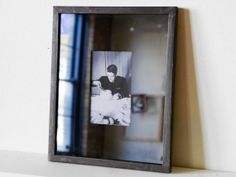 Mirror Photo Frame Large Silver Frame by theframeandmirror on Etsy, $68.00