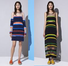 Emma Cook London UK 2015 Resort Womens Lookbook Presentation - 2015 Cruise Pre Spring Fashion Pre Collection - Chevron Mix Match Patterns Zigzag Print Graphic Motif Hands Lemons Fruits Pop Art Houndstooth Sawtooth Geometric Stripes Drawstring Sweatpants Jogging Espadrilles Sweater Jumper Outerwear Coat Jacket Poncho Hoodie Midi Skirt Frock Blouse Mesh Cardigan Wide Leg Trousers Culottes Gauchos Sheer Chiffon Dress Shorts Shirtdress Bomber Jacket