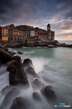 Tellaro - Photography by Paolo Bolla www.paolobolla.it #cinqueterre #italy #seascape