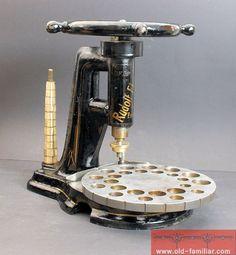 antike Ringweitmaschine Uhrmacher Juwelier (clock maker jeweler)