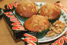 Wow¡ Mars and nougats cupcakes or muffins