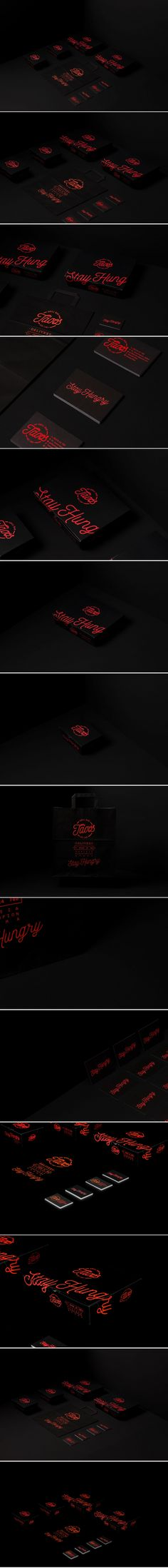 Brand identity and package design using Pantone Neon Colors for Tasos Grill Bar in Drama. A project by Artware