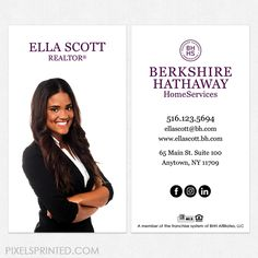 Get your berkshire hathaway business cards from printerbees and they get your berkshire hathaway business cards from printerbees and they are sure to look professional and make a grea berkshire hathaway business cards colourmoves