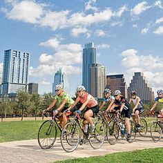 """Southern Living """"Insider City Tour of Austin: See the sights of Austin on custom routes created specifically for your biking abilities"""""""