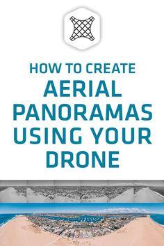 How to create an aerial panorama with a drone using Adobe Lightroom via @fromwhereidrone #fromwhereidrone #drone #tutorial