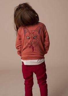 Soft Gallery AW14 Mariko Jacket Siamese Cat