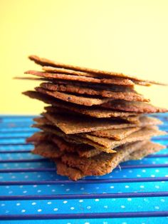 Homemade Vegetable Thins Crackers by Provincial Paleo