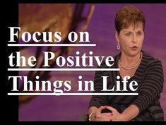 Joyce Meyer Blessed Sermon Focus on the Positive Things in Life Joyce Meyer Sermons, Joyce Meyer Quotes, Joyce Meyer Ministries, Christian Movies, Christian Life, Inspirational Videos, Inspirational Speakers, Prayer Quotes, Lord's Prayer