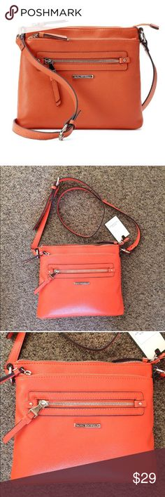"NWT Dana Buchman Gracie Crossbody Bag - Orange The PERFECT crossbody purse! New with tags. ""Gracie"" crossbody bag by Dana Buchman. Gorgeous orange color. Comes from a smoke and pet free home. Dana Buchman Bags Crossbody Bags"