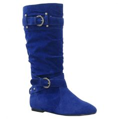 Blue Boots $23.50, love the color!