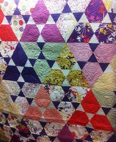Lotus from Jaybird Quilts made in the Piper collection. Wow!