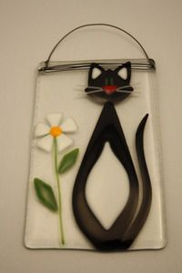 Hand made fused glass wall and window art.  Made in Canada and available at The Avant-Garden Shop.  http://www.avantgardenshop.com/index.php?main_page=index&cPath=1_55_86
