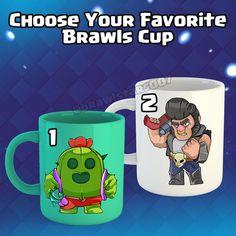 @brawlstars007 Free Gems, Your Favorite, Mugs, Games, Gaming, Mug, Toys