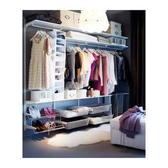 ALGOT Calha vertical/varão/sapateira - IKEA