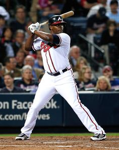 Justin Upton, Atlanta Braves -I am so excited about what he has done so far this year. Absolutely love him!