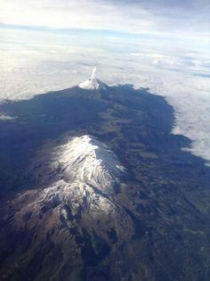 Volcanes Popocatépetl e Iztaccíhuatl Foto: Fernando Lescale