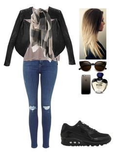 """""""Untitled #94"""" by barijeziberi ❤ liked on Polyvore featuring beauty, Monki, Linea Pelle, Casetify, Moschino and NIKE"""
