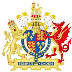 Coat of arms of England (1558–1603)