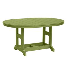 Garden Classic 44 x 64 in Oval Table - Dining, Counter or Bar Height - Dining…