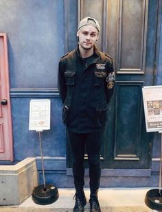 """[fc-Michael Clifford]""""hey I'm smoke. It a nickname I've gotten over the years. I  from the bad part of town. I am mostly known for selling drugs so if you want some let me know. I don't like it when anyone messes with me. I honestly don't care for those spoiled rich kids."""""""