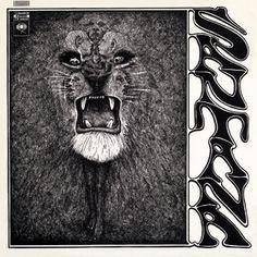 Primer disco de Santana con una portada épica!