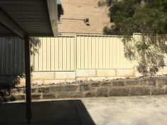 #perth #retainingwall #tasfencing #colorbond #fencing