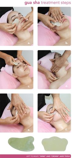 GuaSha therapie : Chinese Healing - Make-up - Yorgo Angelopoulos Massage Tips, Face Massage, Spa Massage, Massage Therapy, Massage Logo, Ayurveda, Gua Sha Massage, Facial Yoga, Reflexology Massage