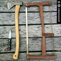Sharp stuff. The guy knows a thing or two about axes. @mikemorton0…