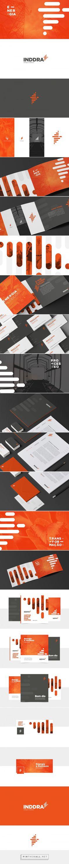 Inddra - Branding on Behance - created via https://pinthemall.net