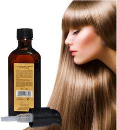Amazon.com : Natural Hair Oil Argan Treatment - #1 BEST ON SALE Vitamins Hair Premium Luxury Moroccan Argan Gold Series, Anti Aging, Sulfate...