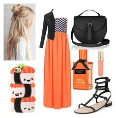 """""""🍣"""" by mikayla-burgess ❤ liked on Polyvore featuring Rebecca Minkoff, LE3NO and Smith & Cult"""