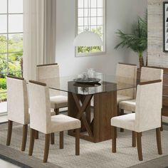 Reunir a família durante as refeições é super importante. Para garantir ainda mais conforto nesse momento aposte nos nossos conjuntos sala de jantar. ;)