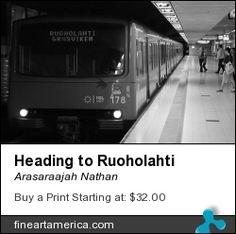 Heading to Ruoholahti