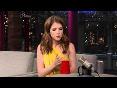 On US tv show Anna Kendrick does a quickened version of the cup song from Pitch perfect