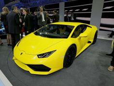 The best sports, performance and supercars at the Geneva Motor Show 2014: Lamborghini Huracan (© Magic Car Pics)