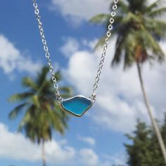 Back at it & it feels great!  I'll have this freshly finished turquoise blue sea glass necklace & more with me at the Ombak Bikini Bash this Sunday at Villa Playa Maria in Rincón. The models will be wearing my jewels & it's going to be a great party so if you're in town don't miss it! See you there! @ombakswimwear @villaplayamaria #ombakbikinibash #rincon #rinconpr #poolparty #fashionshow #bikinis #goodtimes