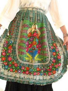vintage Mayan Guatemalan apron (BEAUTIFUL!)