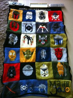 Star Wars Craft Charts pattern by Leah Fenton