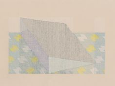 Pillow for Breathing at Night by Kelly John Clark (colored pencil on paper, 2012)