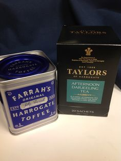 Send them back to the office with the perfect afternoon break - good tea and a tin of English toffees!