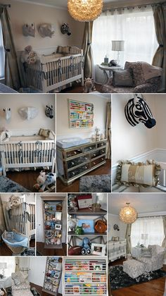 Real Nursery Inspiration: Sophisticated Safari (Includes Nursery Decorating Tips & Product Guide)