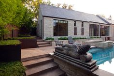 Hugh Jefferson Randolph Architects's Design Ideas,  ( Like as Pool house or Mother in law suite)