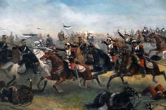 Cavalry charge at the Battle of Rezonville